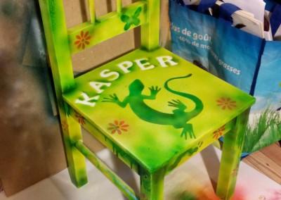 de stoel van Kasper