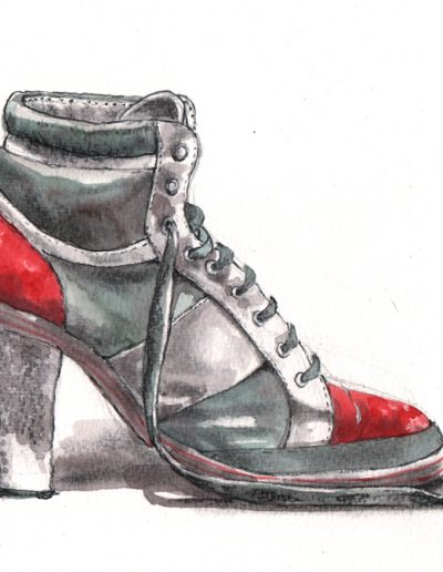 Ladies Drawing Night #2 Schoen aquarel tekenen schilderen