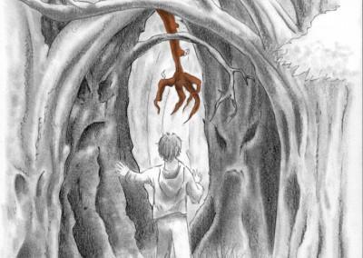 illustratie Sjittertje (van schrijfster Ingrid Verhelst)