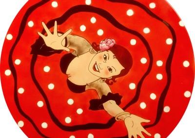flamenco tafeltje