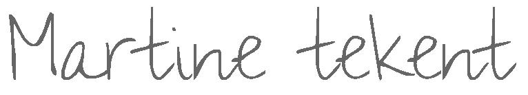 Martine tekent